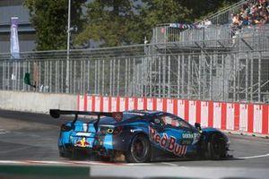 Liam Lawson, AF Corse Ferrari 488 GT3 Evo, after the start crash