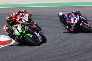 Jonathan Rea, Kawasaki Racing Team WorldSBK, Toprak Razgatlioglu, PATA Yamaha WorldSBK Team, Scott Redding, Aruba.It Racing - Ducati