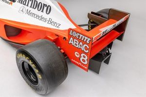 Detail photo of Mika Hakkinen's 1995 McLaren MP4-10