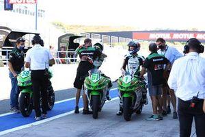Inigo Iglesias, SMW Racing, Yuta Okaya, MTM Kawasaki, Jeffrey Buis, MTM Kawasaki