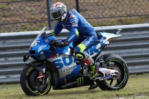 Ausritt: Joan Mir, Team Suzuki MotoGP
