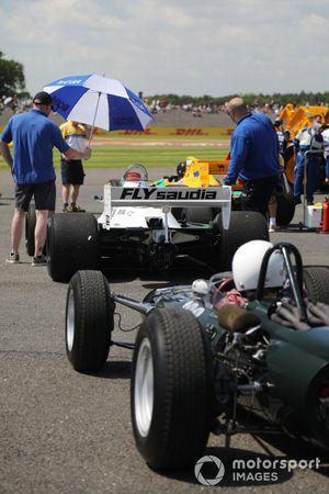 BRM P261 and Williams FW07C