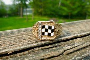 Gordon Johncock's 1982 Indy winner ring