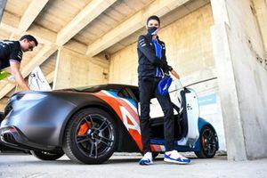 Esteban Ocon, Alpine F1 arrives