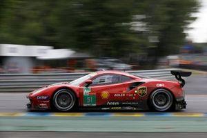 #51 AF Corse Ferrari 488 GTE EVO LMGTE Pro of Alessandro Pier Guidi, James Calado, Côme Ledogar