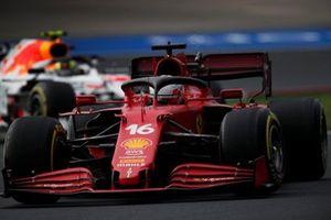 Шарль Леклер, Ferrari SF21, Серхио Перес, Red Bull Racing RB16B