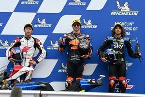 Remy Gardner, Red Bull KTM Ajo, Ai Ogura, Honda Team Asia, Marco Bezzecchi, Sky Racing Team VR46