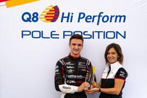 Leonardo Caglioni, Ombra Racing riceve il premio per la Pole Position