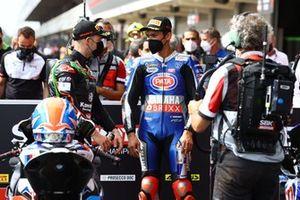 Jonathan Rea, Kawasaki Racing Team WorldSBK, Toprak Razgatlioglu, PATA Yamaha WorldSBK Team