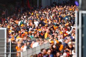 Fans pakken de zaal in