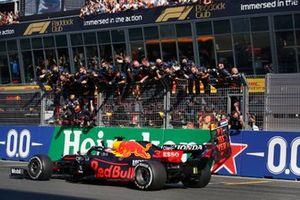 Max Verstappen, Red Bull Racing RB16B wins Dutch GP