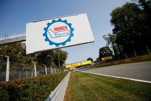 Monza circuit signage