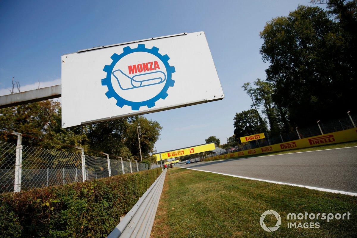Señal del circuito de Monza