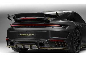 Porsche 911 Turbo, il kit in fibra di carbonio