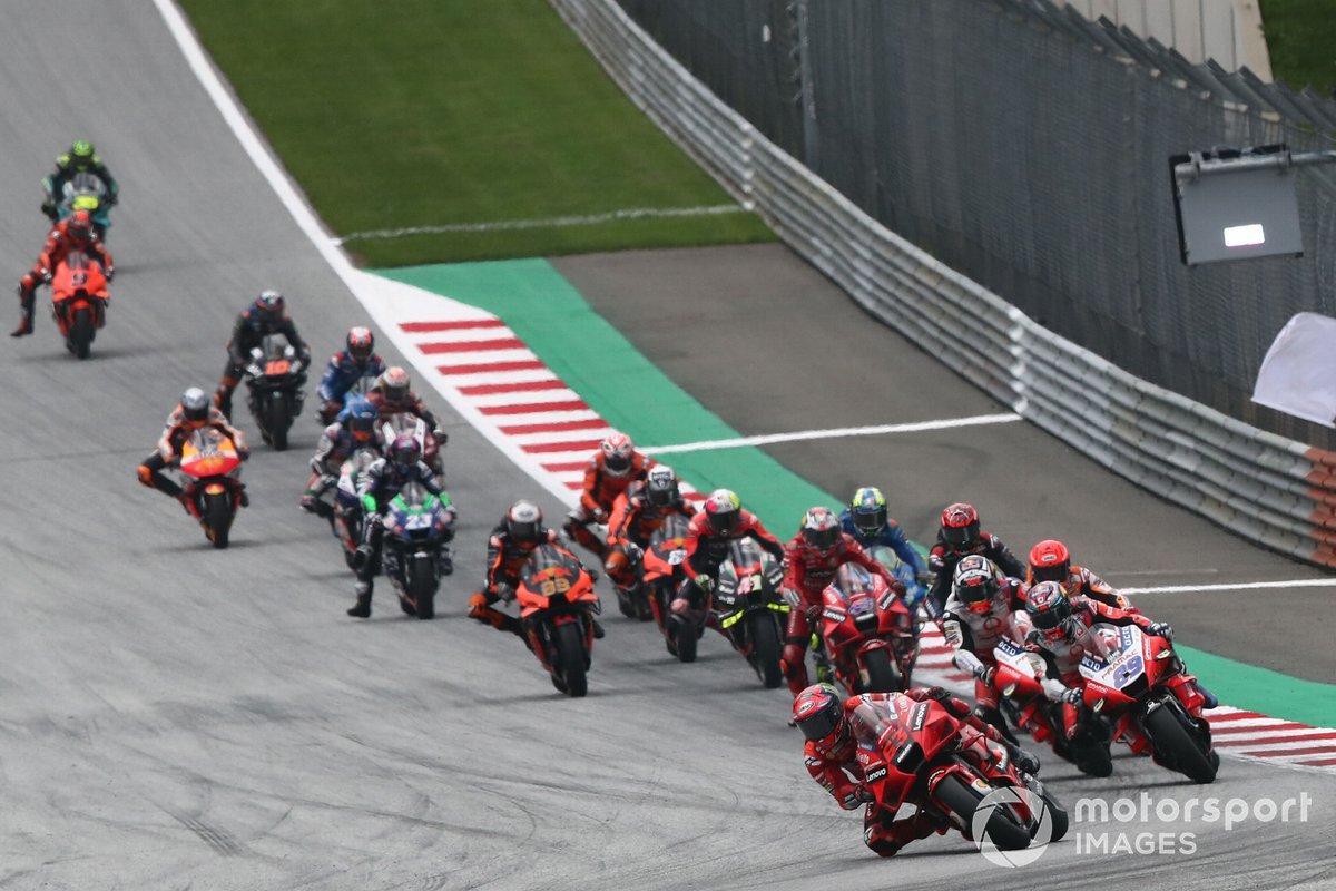 Francesco Bagnaia, Ducati Team MotoGP race