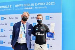 Le poleman Stoffel Vandoorne, Mercedes-Benz EQ