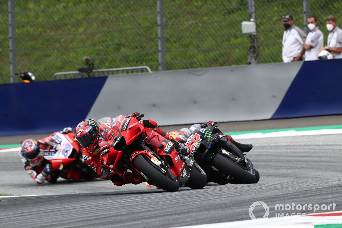 Francesco Bagnaia, Ducati Team Fabio Quartararo, Yamaha Factory Racing