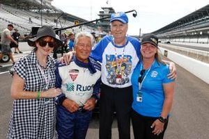 Diana Miller, Mario Andretti, Robin Miller, Sarah Fisher