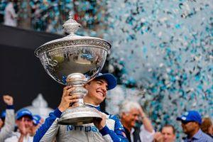 Alex Palou, Chip Ganassi Racing Honda wins the NTT IndyCar Series Championship