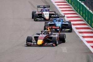 Jak Crawford, Hitech Grand Prix Victor Martins, MP Motorsport Logan Sargeant, Charouz Racing System