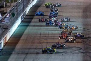 Restart: Colton Herta, Andretti Autosport Honda, führt
