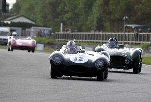 Trophée hommage à Freddie March, Steve Brooks Jaguar D Type