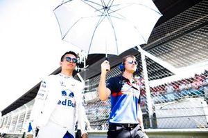 Alexander Albon, Toro Rosso, sur la grille