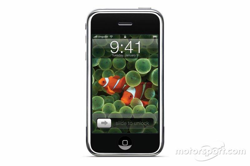 O iPhone ainda não havia sido lançado