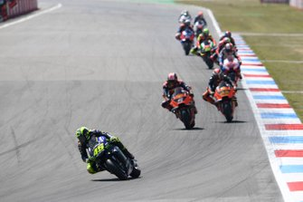 Valentino Rossi, Yamaha Factory Racing, Johann Zarco, Red Bull KTM Factory Racing, Pol Epspargaro, Red Bull KTM Factory Racing