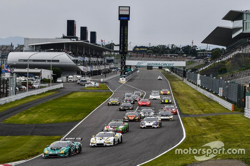 Start der Lamborghini Super Trofeo Asia 2019 in Suzuka