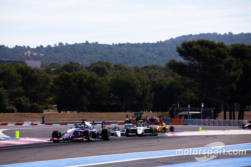 Devlin DeFrancesco, Trident e Fabio Scherer, Sauber Junior Team by Charouz