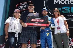 Justin Allgaier, JR Motorsports, Chevrolet Camaro Hellmann's / Fight Hunger Spark Change