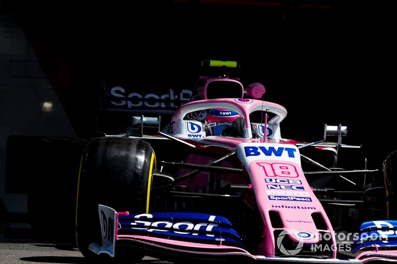17: Lance Stroll, Racing Point RP19, 1'31.726