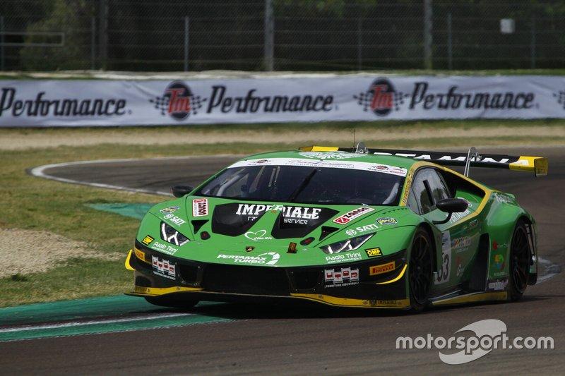 #63 Lamborghini Huracan GT3 Evo GT3 PRO, Imperiale Racing: Postiglione-Mul