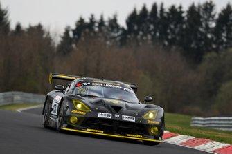 #13 Team Zakspeed Chrysler Viper GT3-R: Jeroen Bleekemolen, Florian Strauß, Christian Mamerow