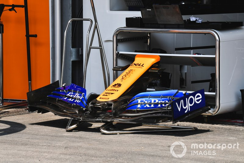 Front Wing of McLaren MCL34