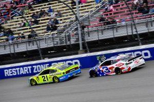 Paul Menard, Wood Brothers Racing, Ford Mustang Menards / NIBCO and Austin Dillon, Richard Childress Racing, Chevrolet Camaro Dow Salutes Veterans