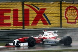 Jarno Trulli, Toyota TF109 with no rear wing