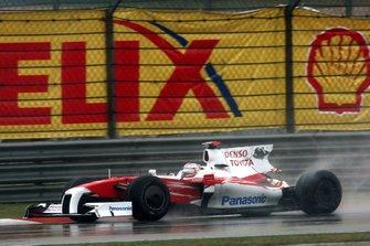 Jarno Trulli, Toyota TF109 arka kanatsız