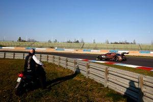Vincent Vosse, teambaas Audi Sport Team WRT en Jonathan Aberdein, Audi Sport Team WRT, Audi RS 5 DTM