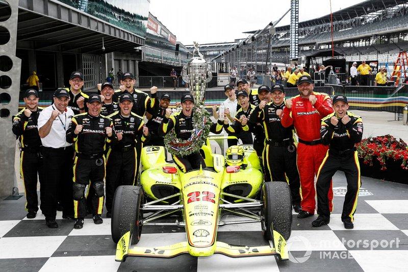 1. Simon Pagenaud, Team Penske Chevrolet