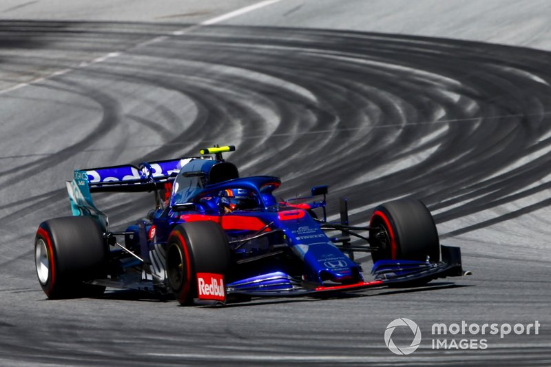 19: Alexander Albon, Toro Rosso STR14, 1'04.665 (punido, vai largar do fundo do grid)