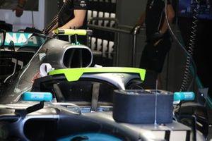 Mercedes F1 AMG W10, cockpit