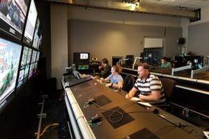 eNASCAR Pro League studio