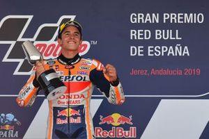 Подиум: победитель Марк Маркес, Repsol Honda Team