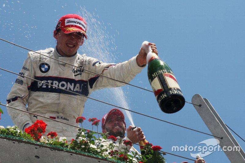 8: Robert Kubica - 23 jaar, 6 maanden 1 dag tijdens de Grand Prix van Canada in 2008