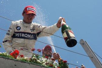 Yarış galibi Robert Kubica, BMW Sauber F1