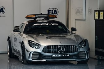 The AMG Mercedes safety car