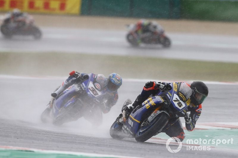 Loris Baz, Althea Racing amd Marco Melandri, GRT Yamaha WorldSBK