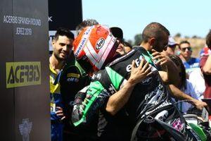 Lucas Mahias, Kawasaki Puccetti Racing après les qualifications